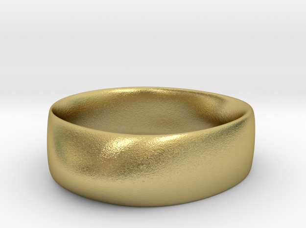 Ring13-17cm in Natural Brass