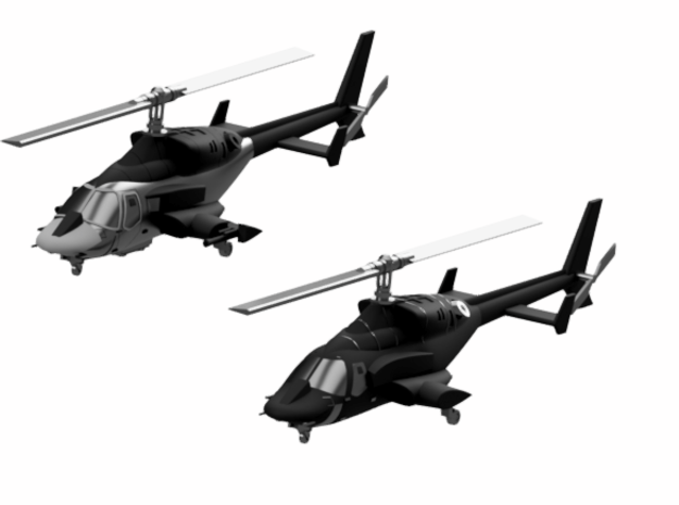 030D Modified Bell 222 Pair - 1/144