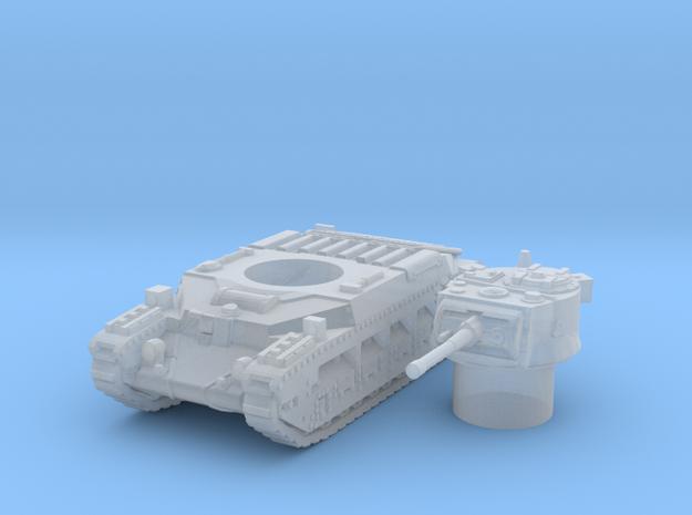 matilda II scale 1/144 in Smooth Fine Detail Plastic