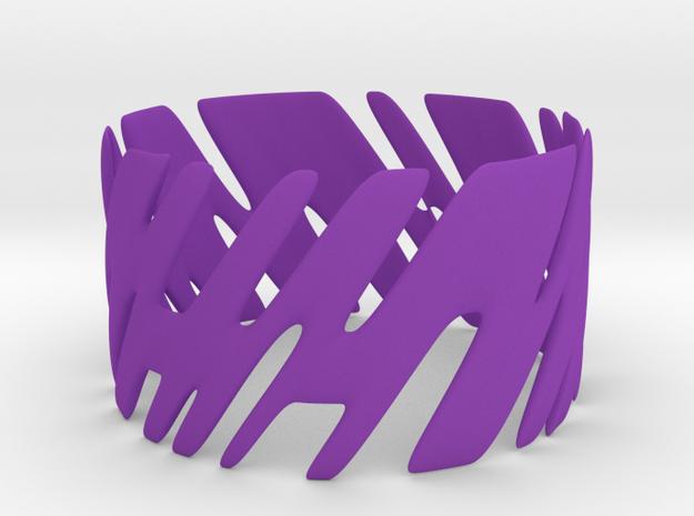 Tis05 Bracelet in Purple Processed Versatile Plastic