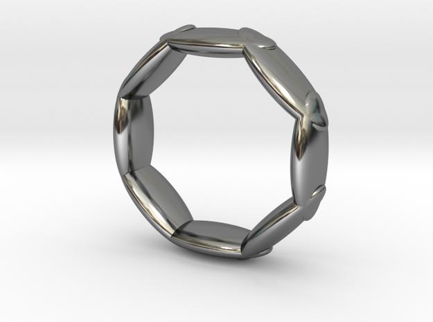 Octagonal Ring UK Size L (US Size 5 ½)