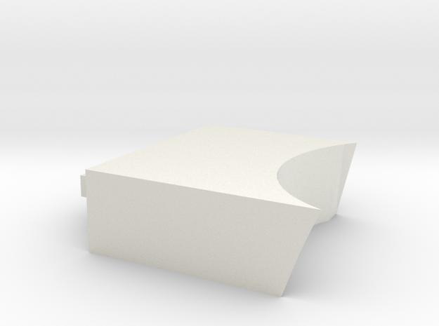 Cover drive in White Natural Versatile Plastic