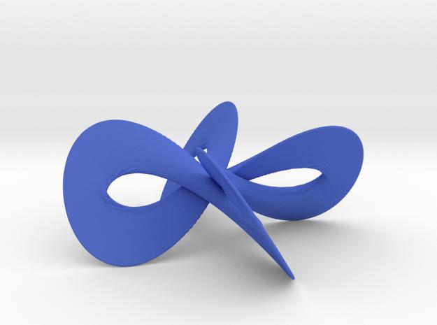 MaurerRose3D(2,37) in Blue Processed Versatile Plastic