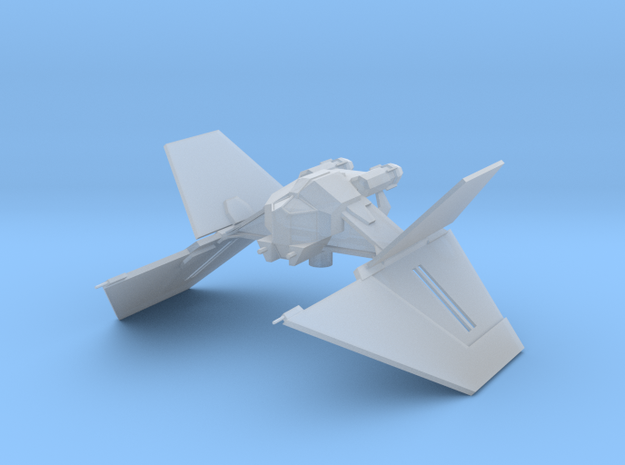 Sith_Interceptor in Smooth Fine Detail Plastic