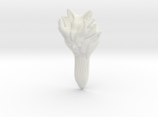 Earth Goddess in White Natural Versatile Plastic
