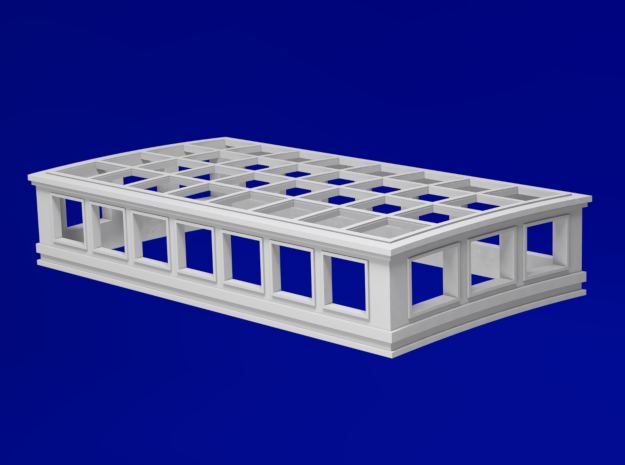 1:78 HMS Victory Skylight in Smoothest Fine Detail Plastic