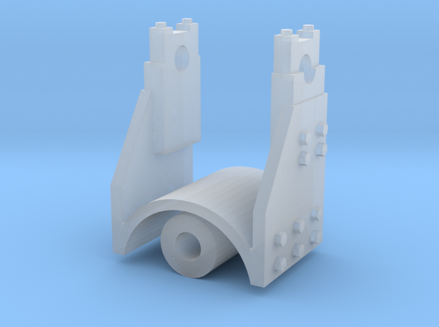 CCM Bulldozer Carrier Roller in Smooth Fine Detail Plastic