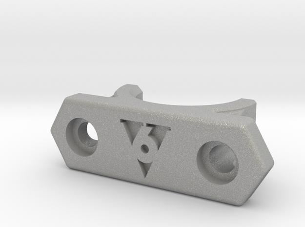 HD modular e3D V6 volcano mount cover Aluminium in Aluminum