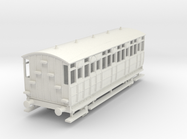 0-76-met-jubilee-saloon-coach-1 in White Natural Versatile Plastic