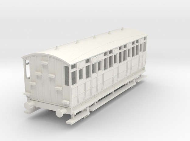 0-87-met-jubilee-saloon-coach-1 in White Natural Versatile Plastic