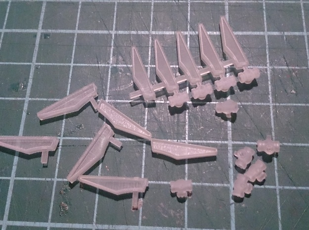 HO 1/87 Fuel Tender parts in Smooth Fine Detail Plastic