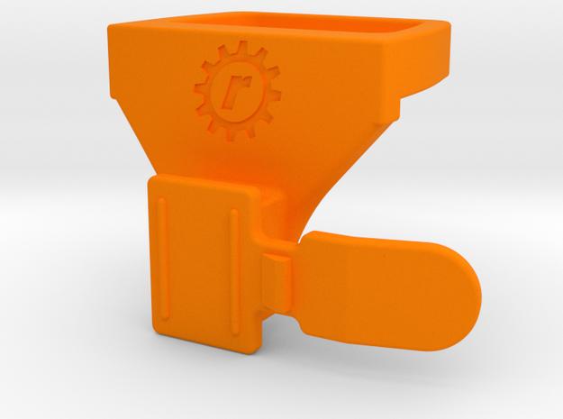 Fizik ICS / Bontrager Flare R/RT Adapter in Orange Processed Versatile Plastic: Small