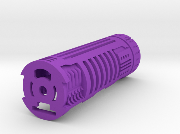WS-Lite1-1 in Purple Processed Versatile Plastic