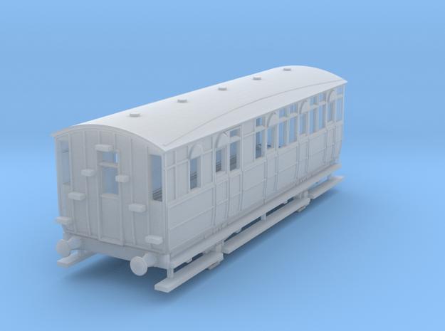 0-148fs-mslr-jubilee-brake-3rd-coach-1 in Smooth Fine Detail Plastic