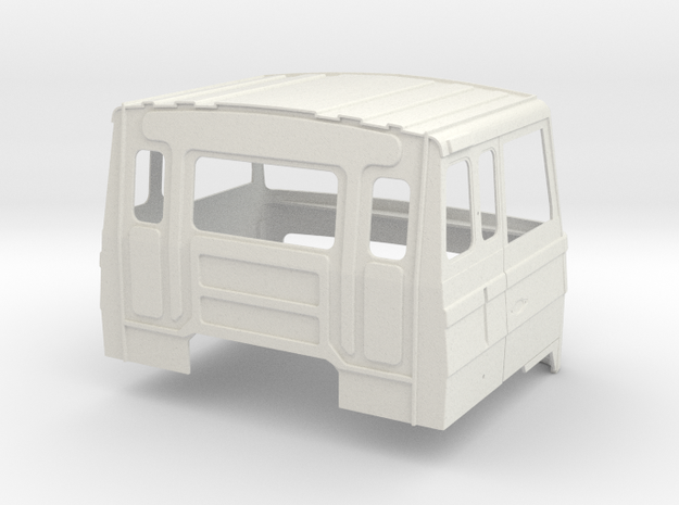 FTF Sleeping cab part 1 in White Natural Versatile Plastic