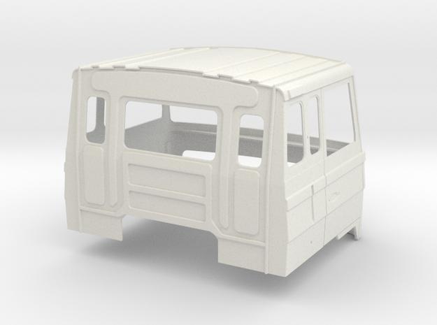 FTF Sleeping cab part 1 in White Natural Versatile Plastic