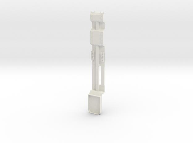 000467 Forstmaschinentransporter HO in White Natural Versatile Plastic: 1:87 - HO