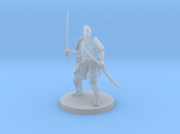 Samurai 2 in Smooth Fine Detail Plastic