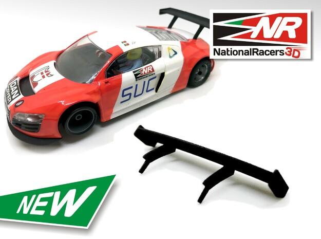 3D Rear wing - NINCO AUDI R8 LMS