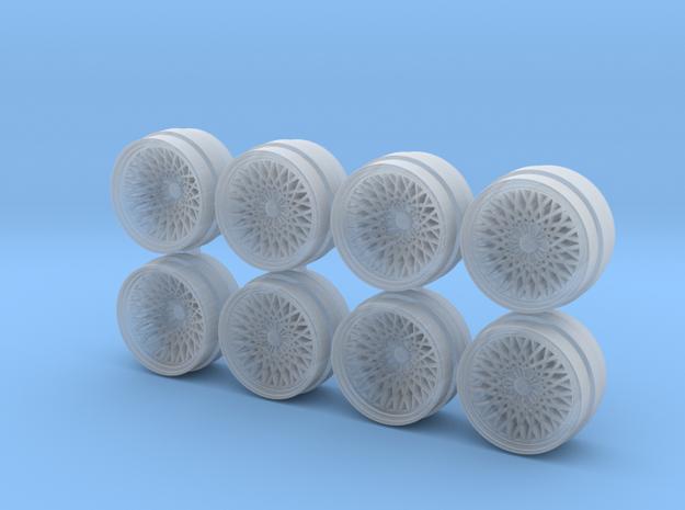 LHR Monoblock 9 Hot Wheels Rims in Smoothest Fine Detail Plastic