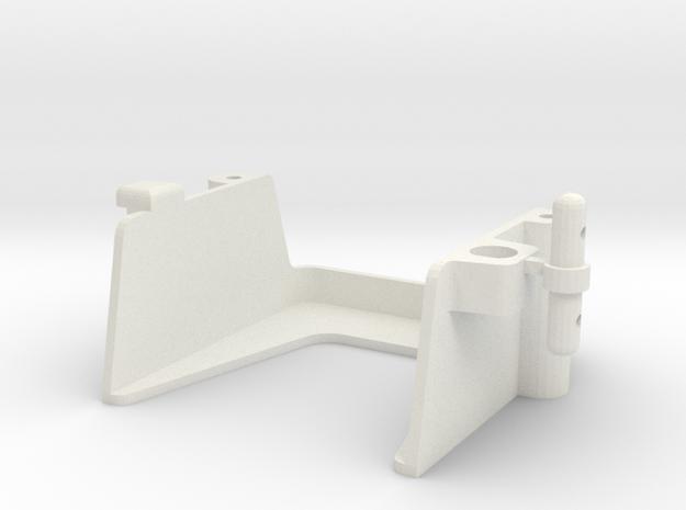 tamiya super astute front battery holder in White Natural Versatile Plastic