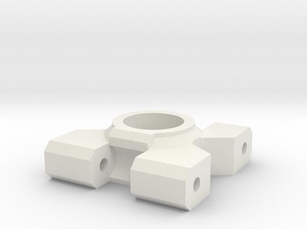 hub-monster-v4.1-L in White Natural Versatile Plastic