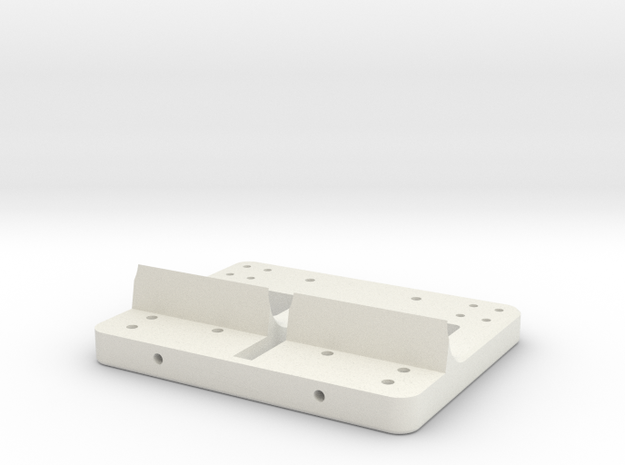 phh-004-bdy-001[base] in White Natural Versatile Plastic: Medium