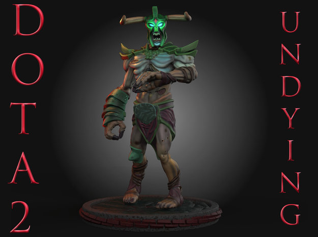 Dota2Undying in Natural Full Color Sandstone