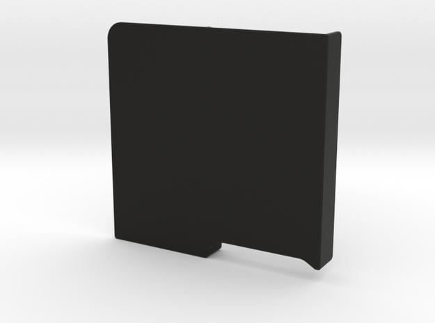 LockableGarmin 395 Base Plate -Cover in Black Natural Versatile Plastic