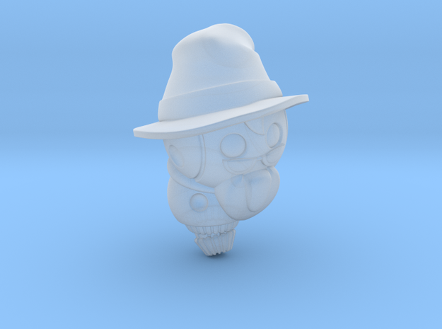 Wizardbot v1.0 in Smooth Fine Detail Plastic