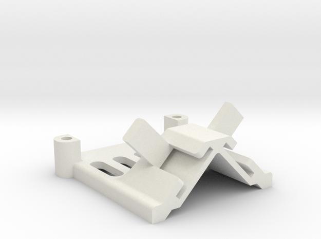 DJI OcySync Dipole antenna 90º mount in White Natural Versatile Plastic