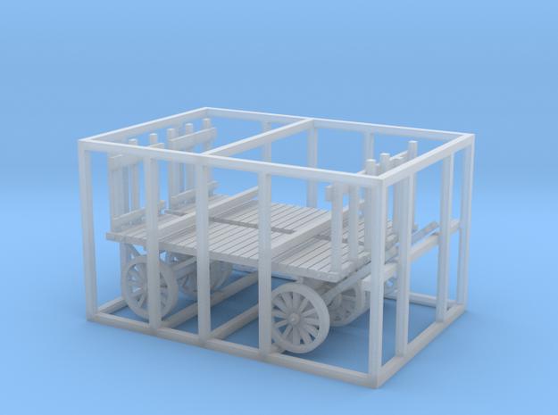 HO scale REA cart