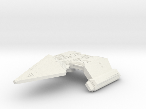 3788 Scale Neo-Tholian Heavy Cruiser (NCA) SRZ in White Natural Versatile Plastic
