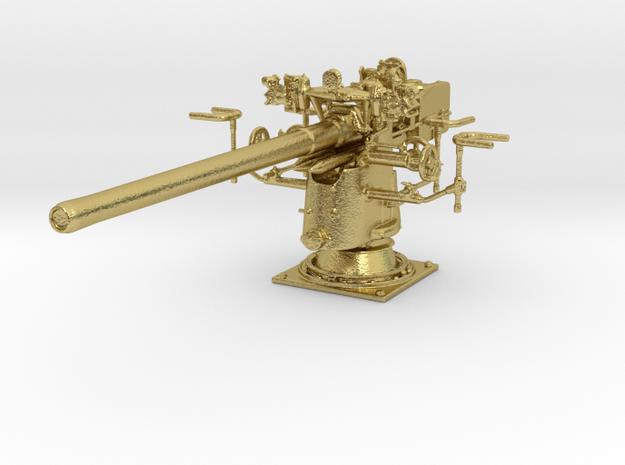 1/48 UBoot 8.8 cm SK C/35 Naval Deck Gun Brass