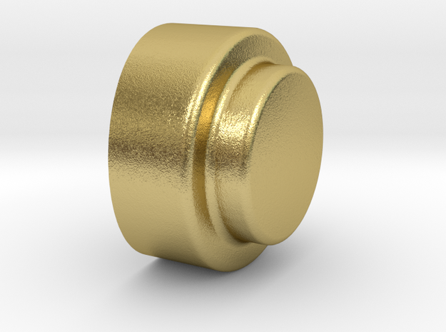 lateral brass pin for vintage flashes in Natural Brass