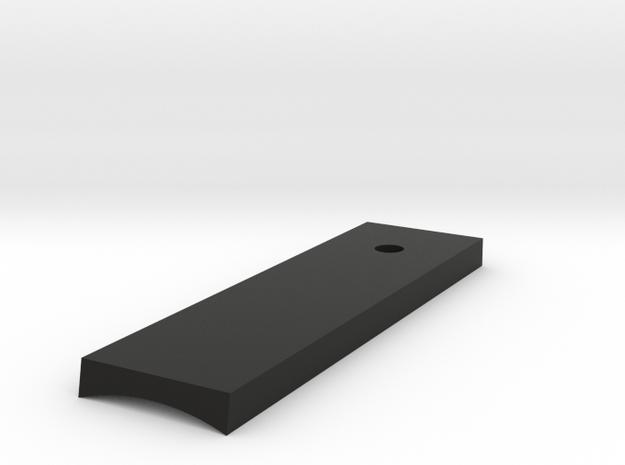 Bolsey activation box bottom - 1 switch in Black Natural Versatile Plastic
