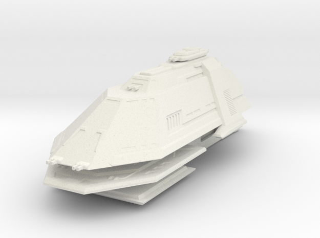 1/3900 Gorn BH2 Battleship - WSF in White Natural Versatile Plastic