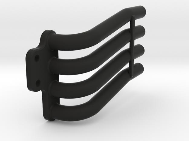 Taurus headers - Left - +4mm in Black Natural Versatile Plastic