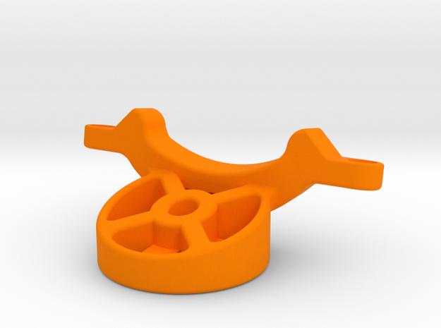 Specialized SWAT / Garmin Track Mount in Orange Processed Versatile Plastic