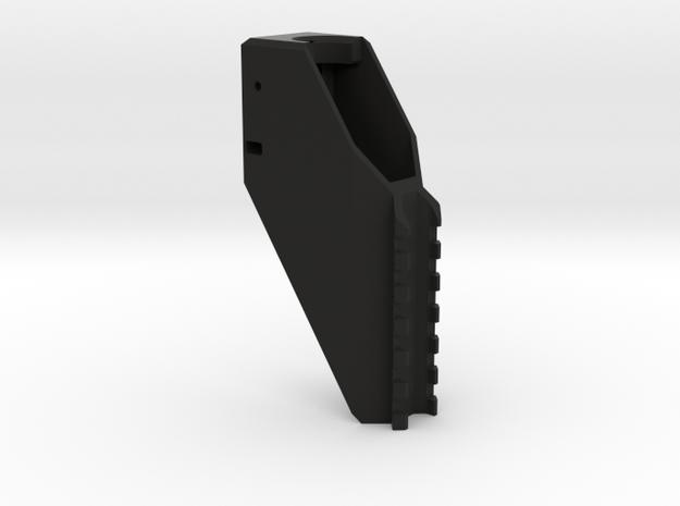 Hi-Capa upper picatinny rail with lock in Black Natural Versatile Plastic
