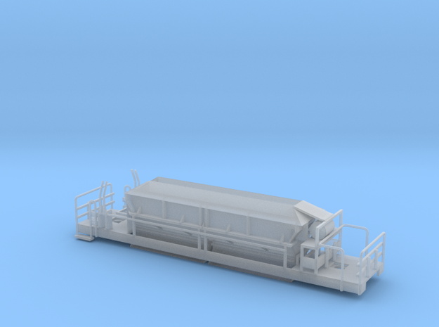 Welsh Highland Rly romanian ballast hopper wagon in Smooth Fine Detail Plastic