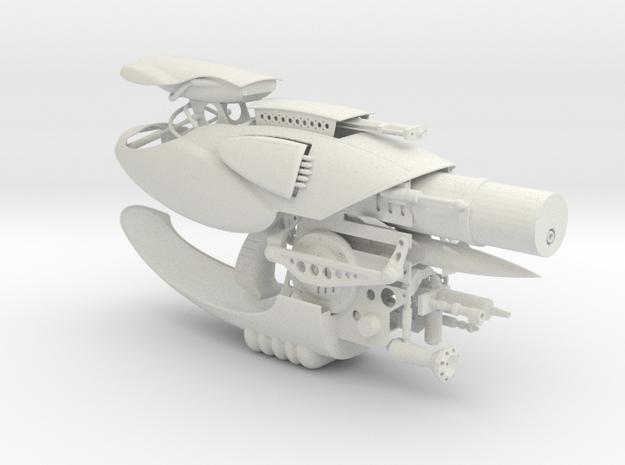 1/3rd scale Zorg ZR-1 in White Natural Versatile Plastic