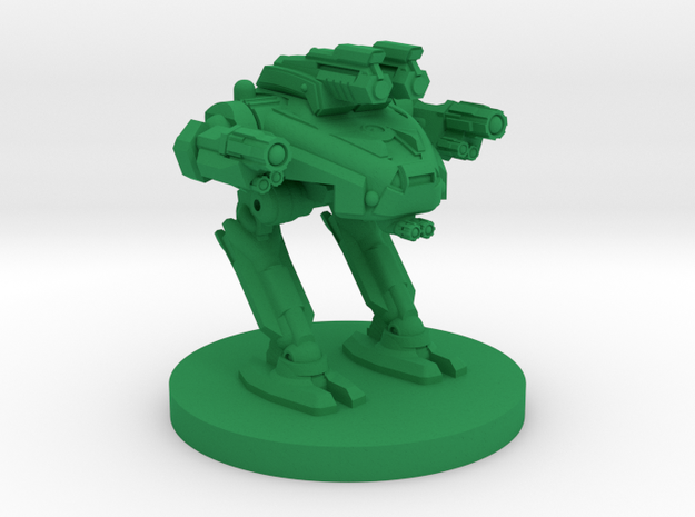 Copperhead  A Combat Walker 3mm in Green Processed Versatile Plastic
