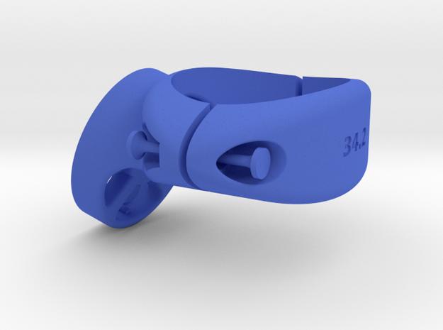 34.2 Garmin Varia / Edge Mount in Blue Processed Versatile Plastic