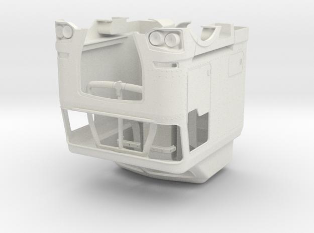 K200 Style cab kit in White Natural Versatile Plastic