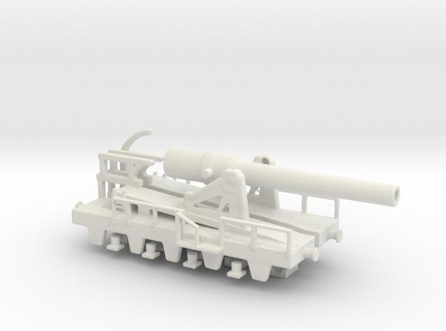 canon de 240 sur affut truc mle 70-81 1/76 (00) in White Natural Versatile Plastic