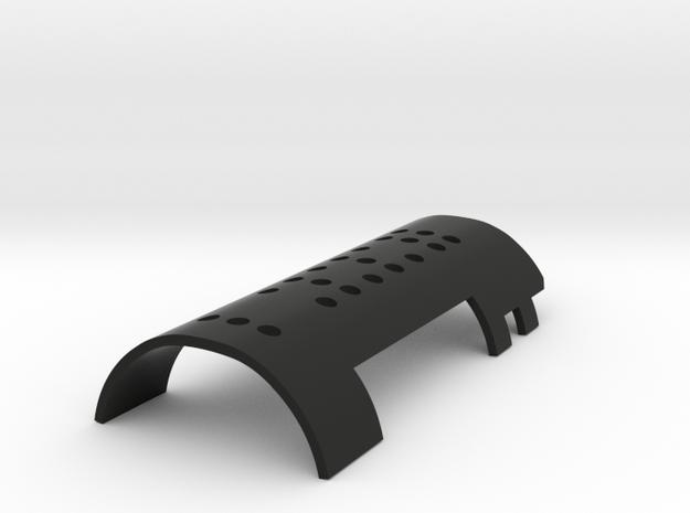 Yoda chassis cover for Nano biscotte V4 (NBV4) in Black Natural Versatile Plastic