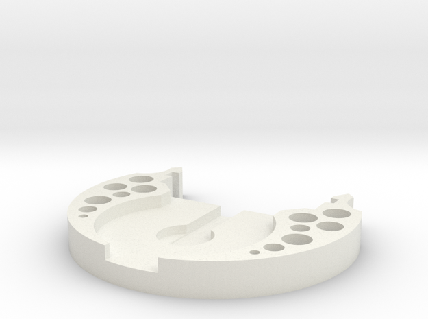 DIYchassis-end in White Natural Versatile Plastic