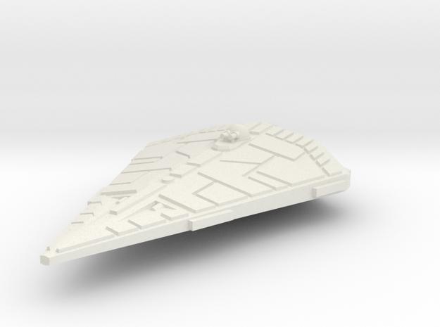 Traveller Type S 1:1000 Scale in White Natural Versatile Plastic