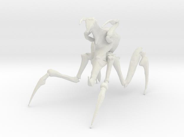 Arachnid Bug 5 in White Natural Versatile Plastic